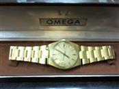 OMEGA WATCH Gent's Wristwatch AUTOMATIC GOLD WATCH
